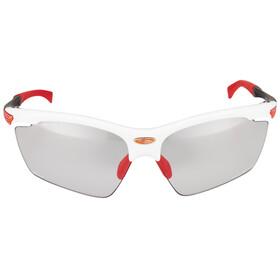 Rudy Project Agon Cykelglasögon röd/vit